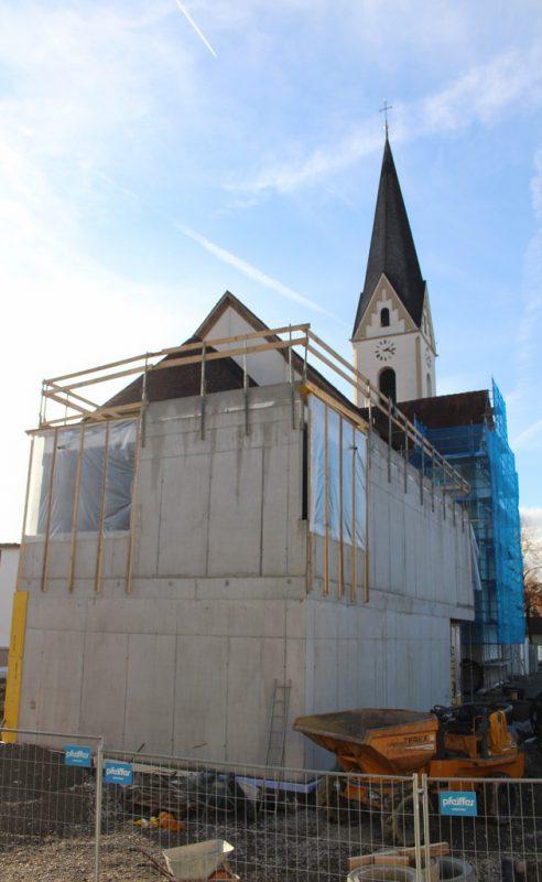 Das Haus St. Georg ist wesentlicher Bestandteil der Generalrenovierung. stp