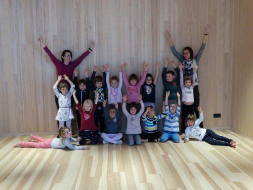 Das Langlauftraining beginnt in Mellau bereits im Kindergarten.