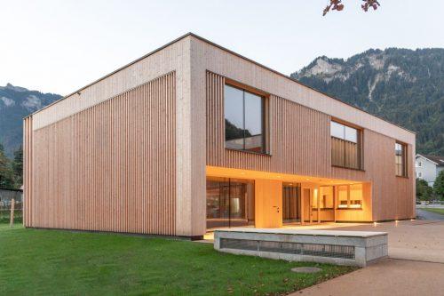 Das neue Gemeindezentrum in Mellau hat sich bereits bei den ersten Veranstaltungen bestens bewährt.