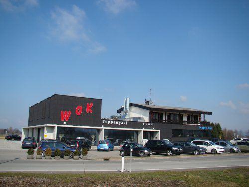 """Das Restaurant """"Wok"""" in Lustenau wird jetzt von Jin Shuang Hu geführt. VN"""