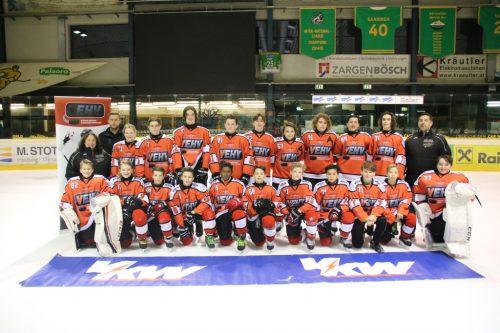 Das Vorarlberger U14-Team will die Niederlage nutzen, um besser zu werden.mima