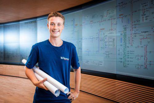 David Hintner hat sich für eine Geo-Informationstechniklehre entschieden. vkw