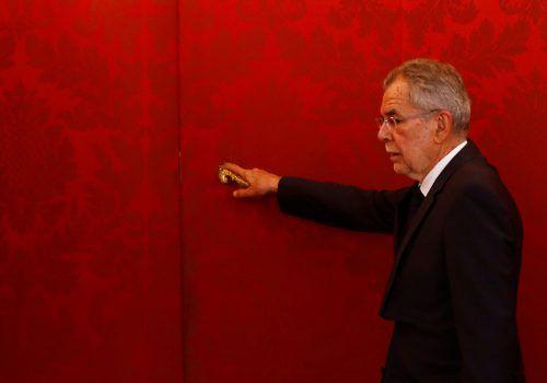 Dem ehemaligen Grünen-Politiker Alexander Van der Bellen ist im Jahr 2018 die Klimapolitik zu kurz gekommen. reuters