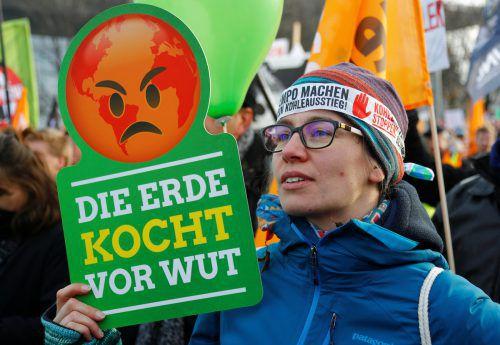 Demonstration gegen die UN–Klimakonferenz in Katowice. Reuters