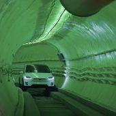 Futuristisches Verkehrssystem