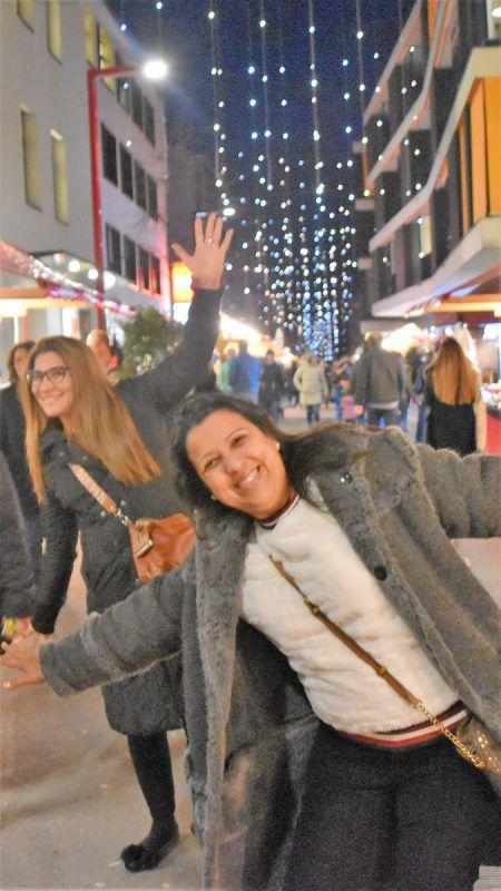 Der Adventmarkt Am Garnmarkt lockte zahlreiche Besucher nach Götzis. LOA