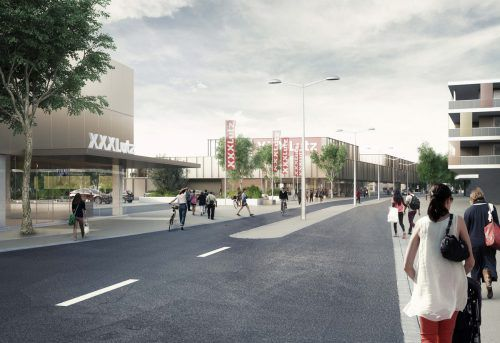 Der Bauantrag für das XXXLutz-Möbelhaus in Lauterach ist eingereicht, die Genehmigung sollte im ersten Halbjahr erfolgen. Fa