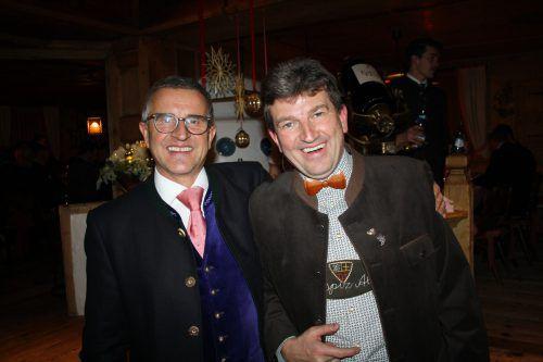 Der Geschäftsführer der Hospiz Alm, Werner Künstner, und Karl-Heinz Pale.