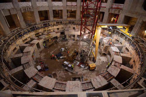 """Der Kernfusionsreaktor ITER (englisch für """"International Thermonuclear Experimental Reactor"""", lateinisch für """"Weg"""") befindet sich derzeit im Bau.AFP"""