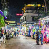 Nachtmarkt in Arpora