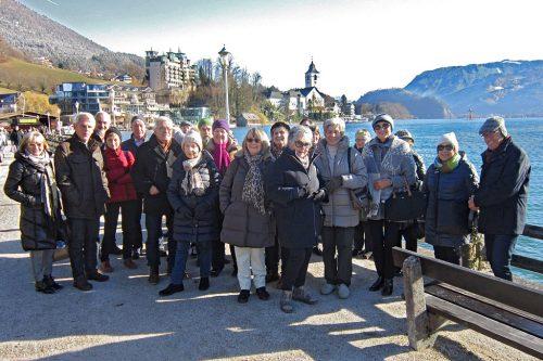 Der Wolfgangsee und Salzburg war Ziel der Adventreise.seniorenbund 50+