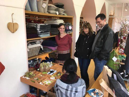 Die Alchemilla-Kräuterfrauen präsentierten sich im Heimatwerk.