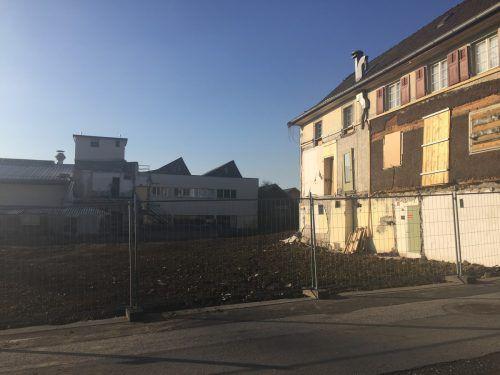 Die alten Doppelmayr-Werkshallen sind bereits abgebrochen. VN/Ger