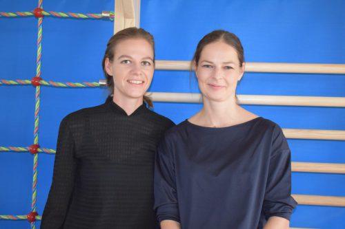 Die beiden Architektinnen: Nora Heinzle und Anja Innauer.