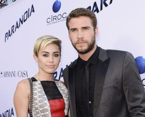 Die beiden Schauspieler sollen am 23. Dezember 2018 geheiratet haben. AP
