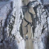 Hunderte Nachbeben in Alaska