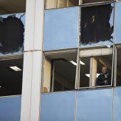 Sprengstoffanschlag auf TV-Sender