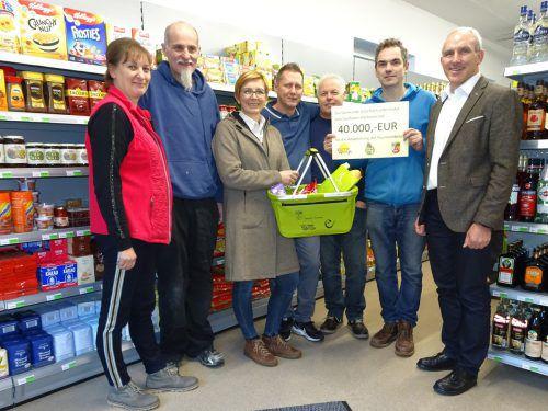 Die Gemeinde Gaschurn unterstützte den Dorfladen mit 40.000 Euro. gemeinde