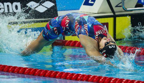 Die Grazerin Caroline Pilhatsch sorgte für die erste OSV-Finalteilnahme bei den 14. Welttitelkämpfen auf der 25-m-Bahn.gepa