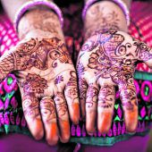Filigrane Zeichnungen mit Henna