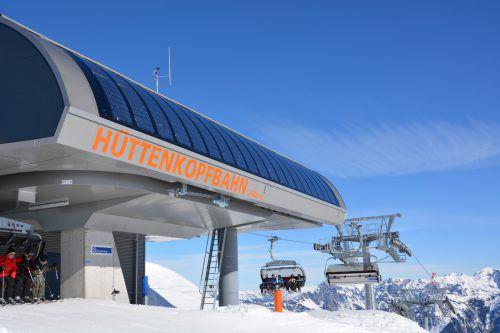 Die Hüttenkopfbahn wird mit Sonnenkraft angetrieben. illwerke vkw