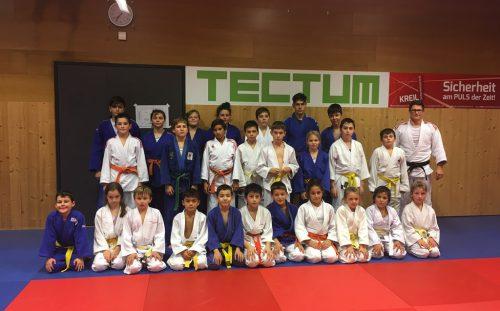 Die jungen Judokas waren voll bei der Sache!union judo-club