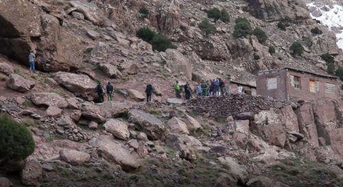 Die Leichen wurden in einer abgelegenen Gegend nahe dem Ort Imlil gefunden. AFP