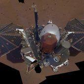 Erstes Selfie auf dem Mars