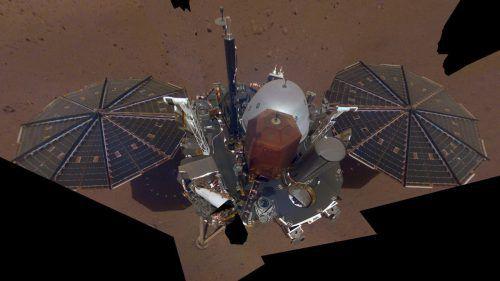 """Die Mars-Sonde """"InSight""""soll vor allem das Innere des Planeten untersuchen. AP"""
