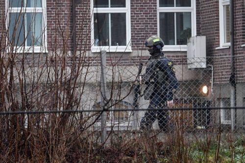 Die schwedische Polizei geht von einer absichtlichen Sprengung aus. AFP