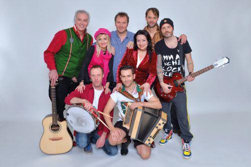Die Seer haben Freude am musikalischen Handwerk und echter Livemusik. HANDOUT/VERANSTALTER