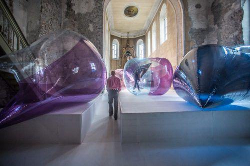 Die Siegerprojekte werden in der Johanniterkirche in Feldkirch ausgestellt, wo ansonsten namhafte Künstler eine Plattform erhalten. VN/PS