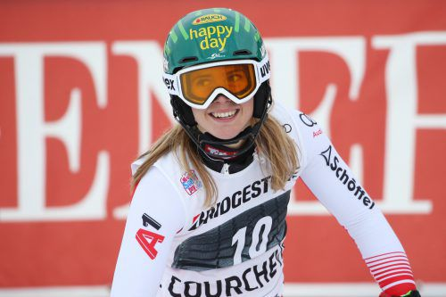 Die Silbermedaillengewinnerin von Pyeongchang, Katharina Liensberger, startet heute beim Riesentorlauf am Semmering mit der Startnummer 22.gepa