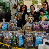 Spende an das Tierschutzheim