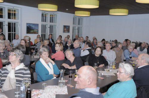 Die Veranstaltung war mit rund 90 Mitgliedern sehr gut besucht.seniorenbörse