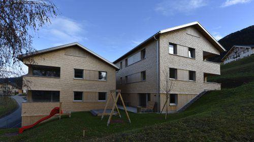Die Wohnanlage Kirchdorf in Raggal ist fertiggestellt.Wohnbauselbsthilfe