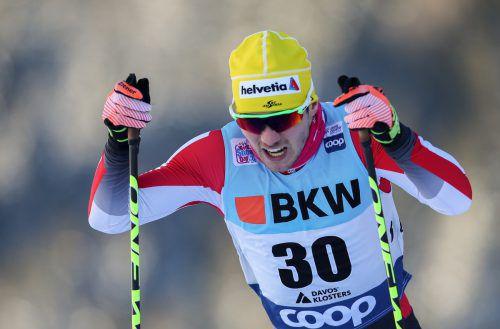 Dominik Baldauf nimmt heute die Tour de Ski der Langläufer in Angriff.gepa