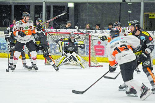 Dornbirns Torhüter Rasmus Rinne muss sich in Graz auf viel Arbeit einstellen. gepa