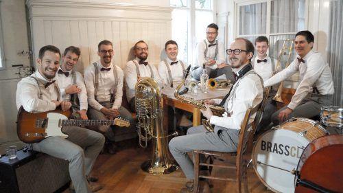 Eine noch junge Band aus Vorarlberg: Brassclub.brassclub
