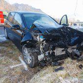 Fünf Verletzte bei Unfalldesaster
