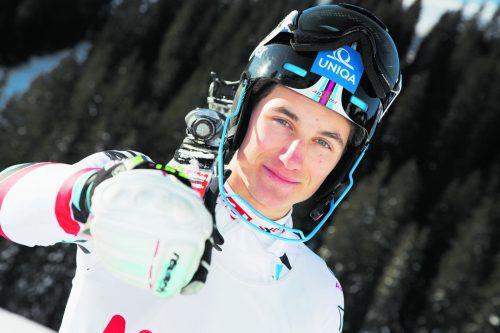 Einsatz im Weltcup: Patrick Feurstein.bh