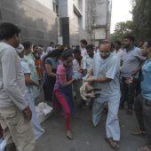 Tote und Verletzte bei Krankenhausbrand