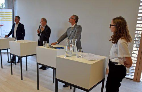 EU-Bürgerdialog in der Marienberg-Aula. HLW Marienberg