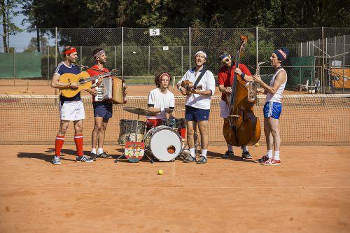 Feinster Reggae und viel Schmiss sind das Markenzeichen des Ski-Schuh-Tennis-Orchestras.band
