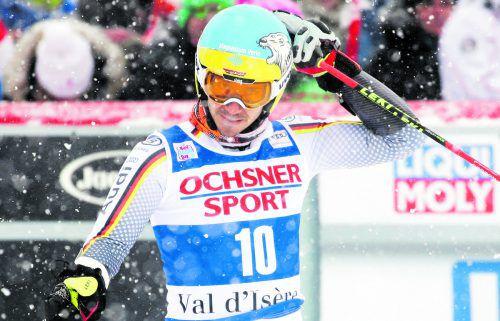 Felix Neureuther war mit dem Comeback im Riesentorlauf in Val d'Isère nicht zufrieden. gepa