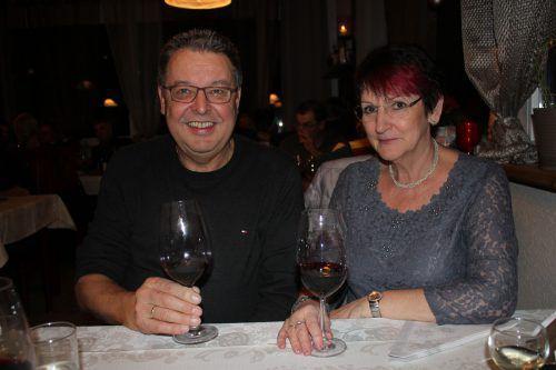 Ferdl Panhofer genoss gemeinsam mit seiner Gattin Helga den Abend.