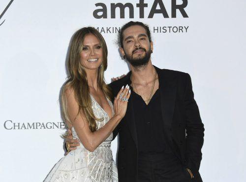 Fernsehmoderatorin Heidi Klum und Musiker Tom Kaulitz wollen sich das Jawort geben.Fans erfuhren von der Verlobung via soziale Medien. AP