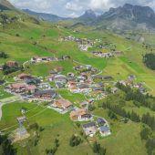 Vorarlberg im Wandel – aus der Drohnen-Perspektive. Oberlech