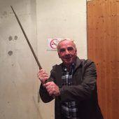 Der Held des Tages: Safet Cehic (69) hielt in Lustenau fünf Einbrecher in Schach. B1