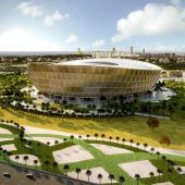 Katar zeigt Stadion